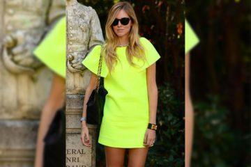 Neon dress - Article tendances 2019 - le blog ordinari