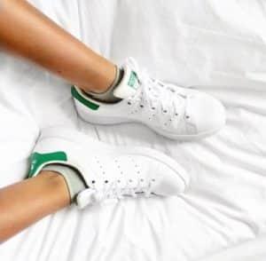La basket blanche : iconique et indémodable