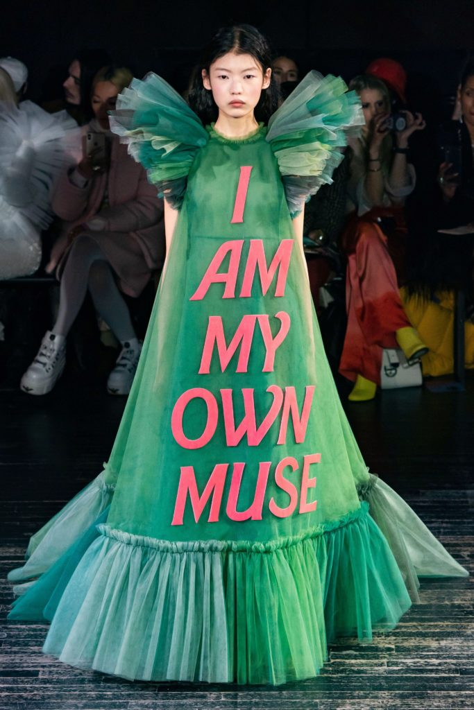 Visuel Robe Viktor&Rolf I am my own muse - Tendances 2019 - ordinari.shop
